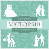 Victorian Elegance Digital Paper DP1137 - Digital Paper Shop - 2