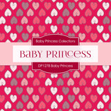 Baby Princess Digital Paper DP1278 - Digital Paper Shop - 2