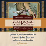 Verses From Psalms Digital Paper DP6657