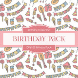 Birthday Pack Digital Paper DP6105
