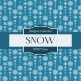 Snow Digital Paper DP597 - Digital Paper Shop - 3