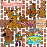 Scooby Doo Digital Paper DP2171 - Digital Paper Shop - 4