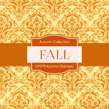 Autumn Damask Digital Paper DP979 - Digital Paper Shop - 3