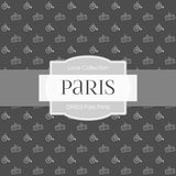 Paris Prints Digital Paper DP853 - Digital Paper Shop - 4