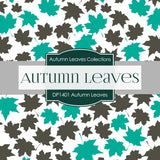 Autumn Leaves Digital Paper DP1401 - Digital Paper Shop - 4