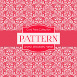 Strawberry Parfait Digital Paper DP2901 - Digital Paper Shop - 3