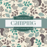 Camping With Dad Digital Paper DP2402 - Digital Paper Shop - 3