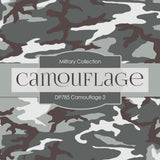 Camouflage Digital Paper DP785 - Digital Paper Shop - 4