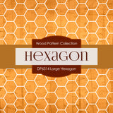 Large Hexagon Digital Paper DP6314A