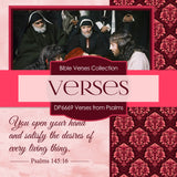 Verses From Psalms Digital Paper DP6669