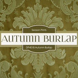 Autumn Burlap Digital Paper DP4018 - Digital Paper Shop - 3