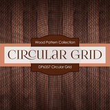 Circular Grid Digital Paper DP6357