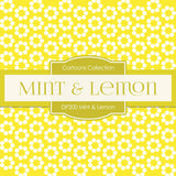 Mint Lemon Digital Paper DP200 - Digital Paper Shop - 3