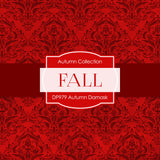 Autumn Damask Digital Paper DP979 - Digital Paper Shop - 4
