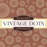 Vintage Dots Digital Paper DP960 - Digital Paper Shop - 3