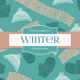 Winter Digital Paper DP4918 - Digital Paper Shop - 3