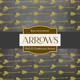 Chalkboard Arrows Paper DP4122 - Digital Paper Shop - 3