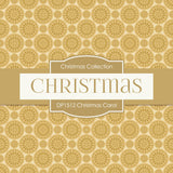Christmas Carol Digital Paper DP1512 - Digital Paper Shop - 3
