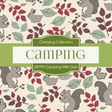 Camping With Dad Digital Paper DP799 - Digital Paper Shop - 4