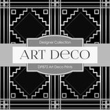 Art Deco Prints Digital Paper DP872 - Digital Paper Shop - 3