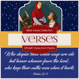 Verses From Psalms Digital Paper DP6649