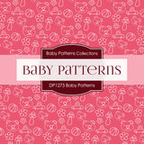 Baby Patterns Digital Paper DP1275 - Digital Paper Shop - 3