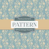 Vintage Wedding Digital Paper DP910 - Digital Paper Shop - 3