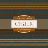 Chalkboard Tribal Digital Paper DP1568 - Digital Paper Shop - 3