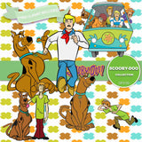 Scooby Doo Digital Paper DP3100 - Digital Paper Shop - 3