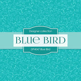 Blue Bird Digital Paper DP4047 - Digital Paper Shop - 4