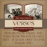 Verses From Psalms Digital Paper DP6659