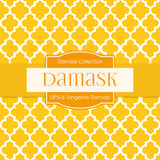 Tangerine Damask Digital Paper DP516 - Digital Paper Shop - 4
