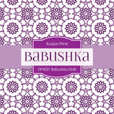Babushka Dolls Shabby Chic Digital Paper DP4021 - Digital Paper Shop - 3