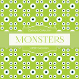 Monsters Digital Paper DP391 - Digital Paper Shop - 3