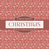 Christmas College Digital Paper DP1517 - Digital Paper Shop - 4
