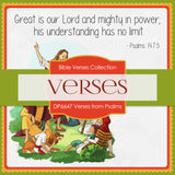 Verses From Psalms Digital Paper DP6647