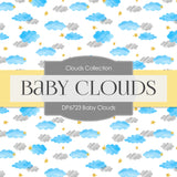 Baby Clouds Digital Paper DP6723