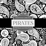 Black and White Pirates Digital Paper DP909 - Digital Paper Shop - 3