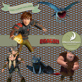How To Train Your Dragon Digital Paper DP3069 - Digital Paper Shop - 5