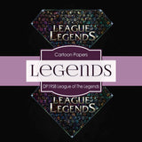 League of Legends Digital Paper DP1958 - Digital Paper Shop - 4