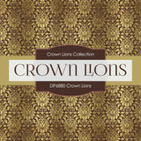 Crown Lions Digital Paper DP6880