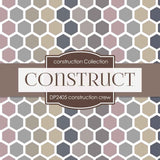 Construction Crew Digital Paper DP2405 - Digital Paper Shop - 3