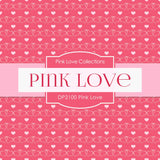 Pink Love Digital Paper DP2100 - Digital Paper Shop - 4