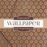 Vintage Wallpapers Digital Paper DP587 - Digital Paper Shop - 3