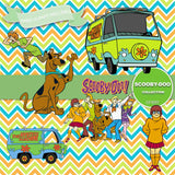 Scooby Doo Digital Paper DP3097 - Digital Paper Shop - 5
