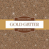 Gold Glitter Papers Digital Paper DP161 - Digital Paper Shop - 4