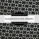 Houndstooth Spring Digital Paper DP1018 - Digital Paper Shop - 3