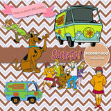 Scooby Doo Digital Paper DP2171 - Digital Paper Shop - 5
