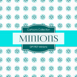 Minions Digital Paper DP1907 - Digital Paper Shop - 4