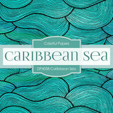 Caribbean Sea Digital Paper DP4058 - Digital Paper Shop - 2